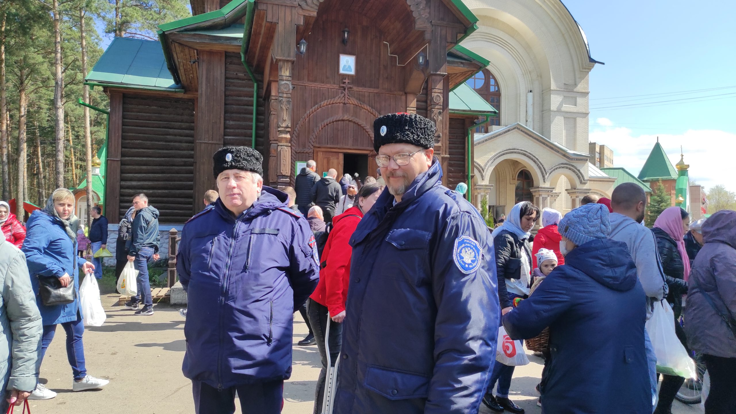 Великая суббота в Казанском храме, г.Раменское