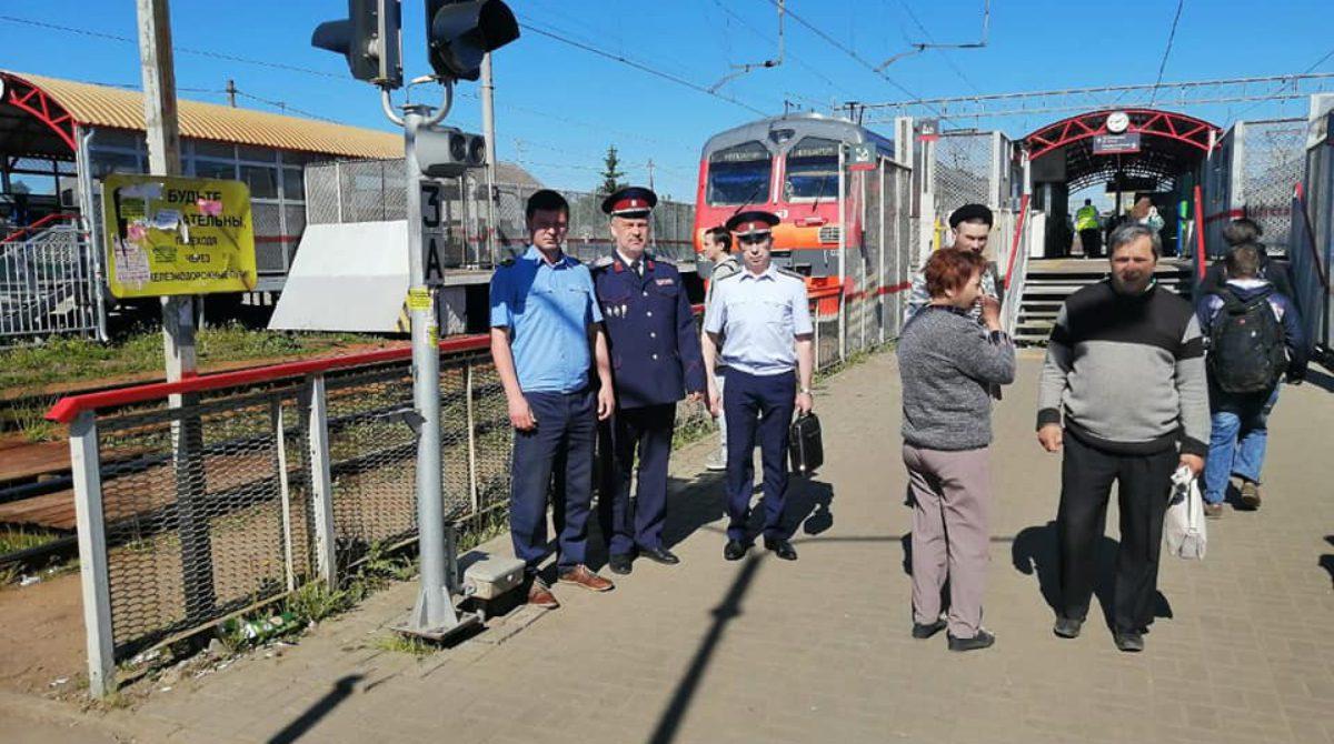 Профилактический рейд на станции «Ипподром»